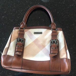 Authentic Burberry Handbag but needs some TLC